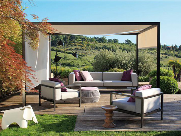 How To Decorate An Outdoor Canopy A Facebook Users Blog   Backyard Canopy