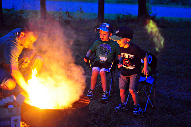 I Think The Best Method Is To Go Along With Your Child On Their First Camp Out Over Night If You Can Do This Family Or Friends And There